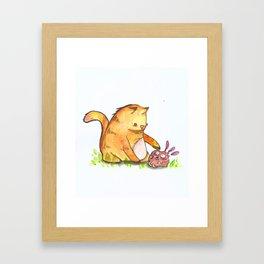 Dont Touch Me!! Framed Art Print