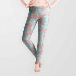 Powder Blue Paradise Leggings