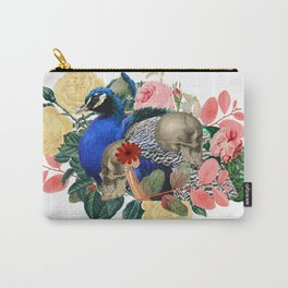 Single Eternal Peacock Carry-All Pouch