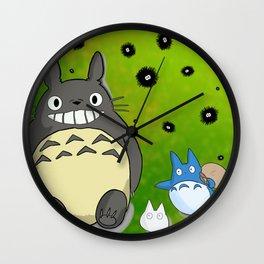 Totoro&Friends Wall Clock