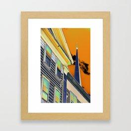 Eagle Street buildings Framed Art Print