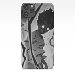 Mob Psycho 100 BW iPhone Case