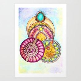 Bollywood Art Print