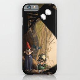Over the garden wall iPhone Case