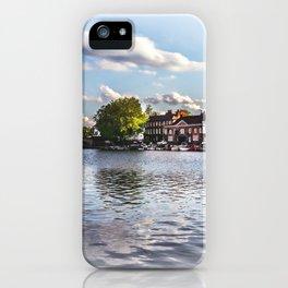Preparing For The Royal Regatta iPhone Case