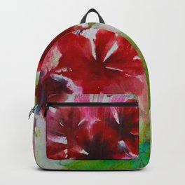Grandiose Geraniums Backpack