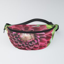 Red Dahlia Fanny Pack