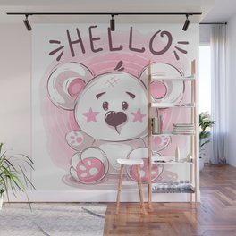 Cutiest Teddy Bear Wall Mural