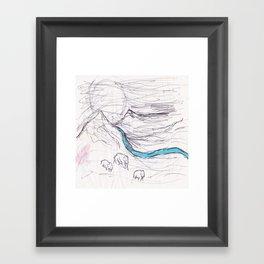 Family Travels  Framed Art Print