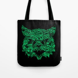 Kitty Witches Tote Bag