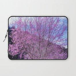 Peach blossom, Peach flower, Photo flower, Peach blossom hill Laptop Sleeve