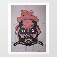 THE CHAFF Art Print