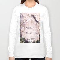van gogh Long Sleeve T-shirts featuring Van Gogh by John Weeden