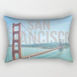 San Francisco Rectangular Pillow