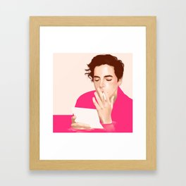 Bad Days, Cole Sprouse. Framed Art Print