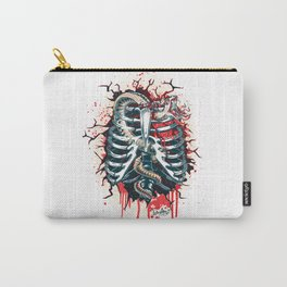 A Wounded Heart Carry-All Pouch