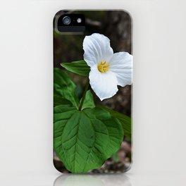 Trilliums  iPhone Case