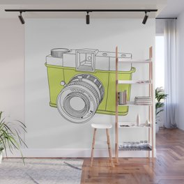 Diana F+ Glow - Plastic Analogue Camera Wall Mural