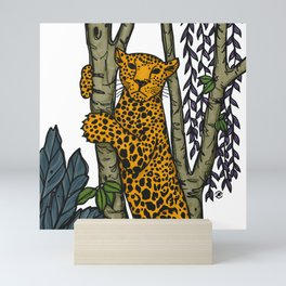 Jasper the jaguar Mini Art Print