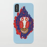 gorilla iPhone & iPod Cases featuring Gorilla by echo3005