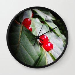 Tree Roe Wall Clock