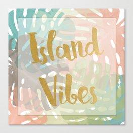 Island Viber Canvas Print