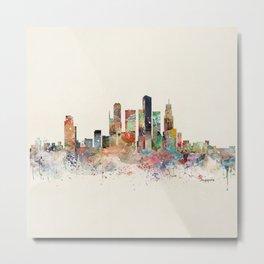 singapore skyline Metal Print