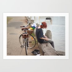 Take me home Art Print