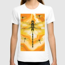 DRAGONFLY IN AGATE T-shirt