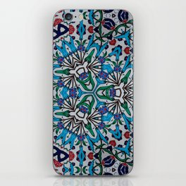 Distorted Pattern iPhone Skin