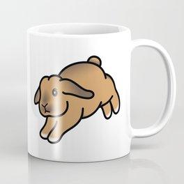 Landing Bunny Coffee Mug