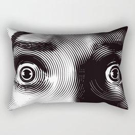 Eyes Terror Rectangular Pillow