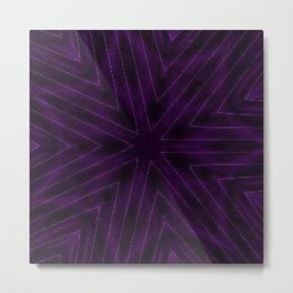 Eggplant Purple Metal Print
