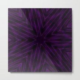 Eggplant Purple Metal Print