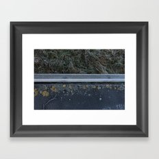 Frosty Walk Framed Art Print
