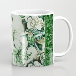 Ruby Throated Hummingbird in Flight Coffee Mug