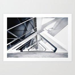 Infinite view Art Print