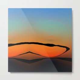 Colorful Bright Modern Art - Eternal Light 2 - Sharon Cummings Metal Print
