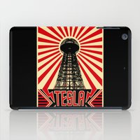tesla iPad Cases featuring Tesla by Octavia Soldani