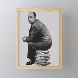 Stack - pencil / graphite drawing of a famous director Framed Mini Art Print
