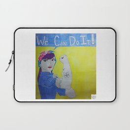 Transgender Rosie the Riveter Laptop Sleeve