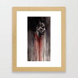 My Continued Obsession with John the Baptist Framed Art Print
