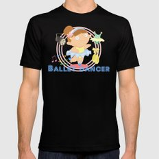 Ballet Dancer Mens Fitted Tee MEDIUM Black