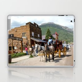 Catch the Afternoon Stage out of Silverton Laptop & iPad Skin