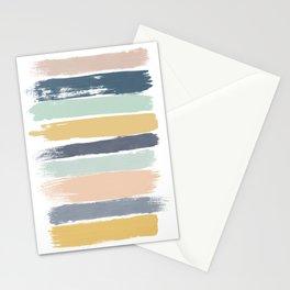 Pastel Stripes Stationery Cards