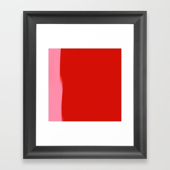 135 Framed Art Print