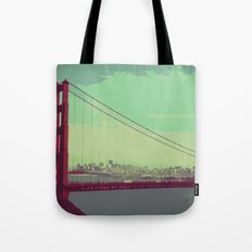 Golden Gate Bridge from Marin Tote Bag