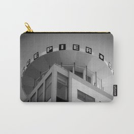 Clarence Pier Vintage Style Carry-All Pouch