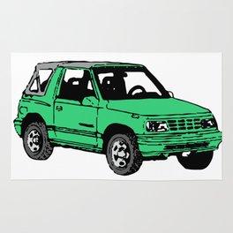 Retro 80s Truck / SUV Rug
