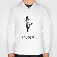 punk Hoodies featuring Punk by Muses.is